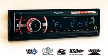 Radio samochodowe Philips CE 133 z Biedronki 2014