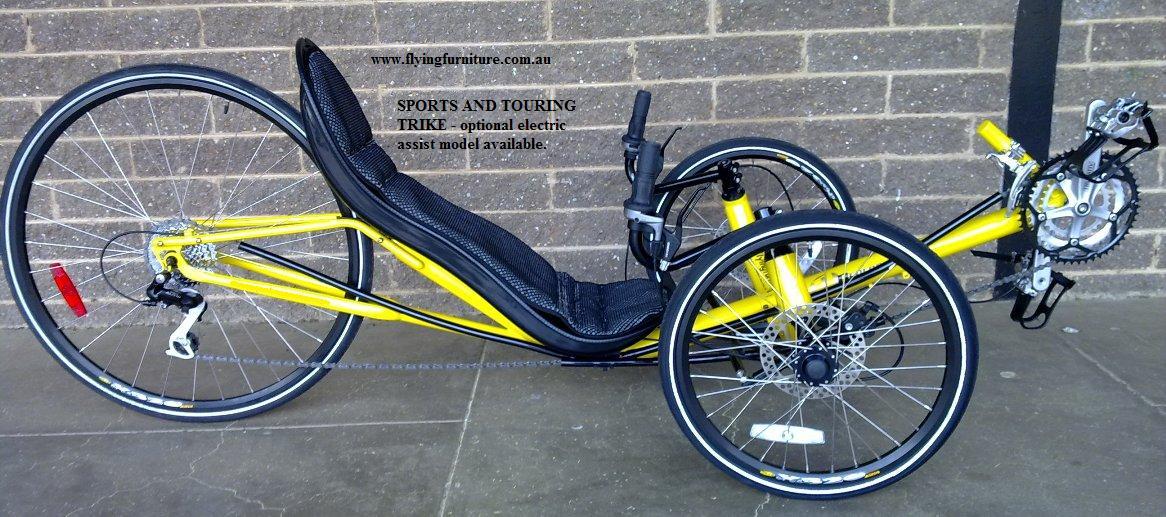 Proporzione divina recumbent bikes vs trikes for Recumbent bike with electric motor