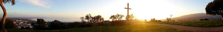 Serra Cross, Grant Park, San Buenaventura, Southern California