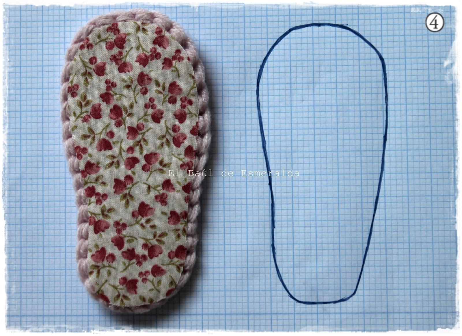 Bonito Los Patrones De Crochet Libre Para Chanclas Bebé Inspiración ...