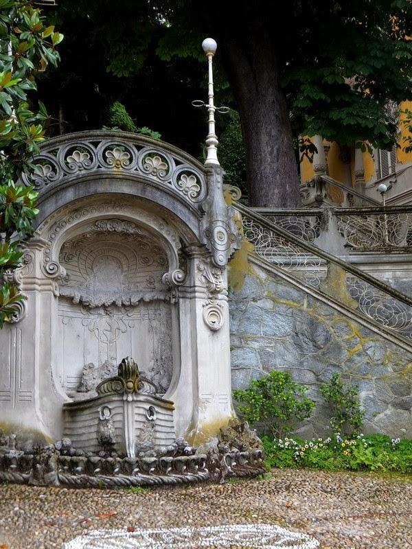 Turin Italie art nouveau Liberty villa scott