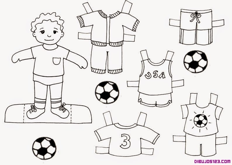 Los pitufos de infantil: La ropa