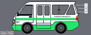 Trayek dan Info Angkot 07 di Tasikmalaya | Kisatasik