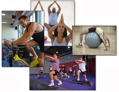 Pictures of people exercising
