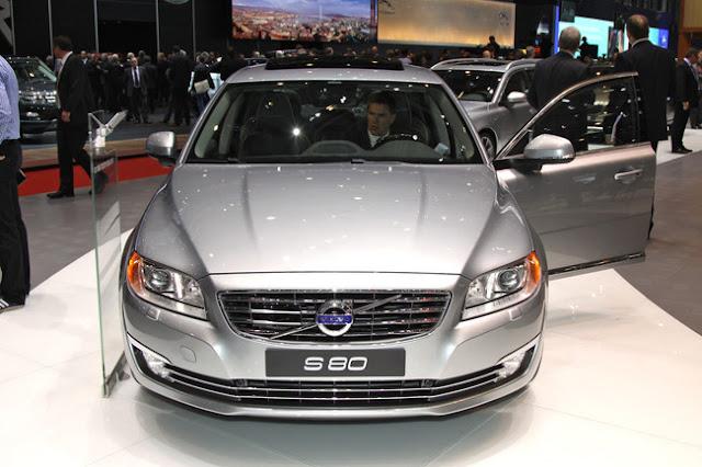 фотографии Volvo s80