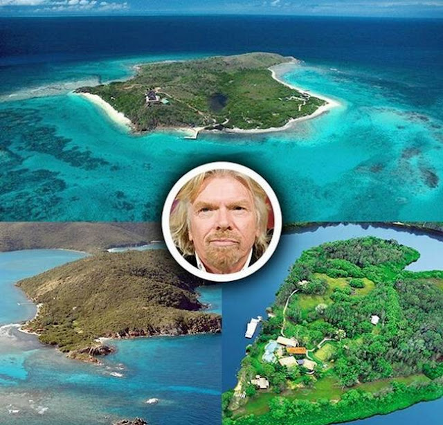 Richard Branson Private Islands
