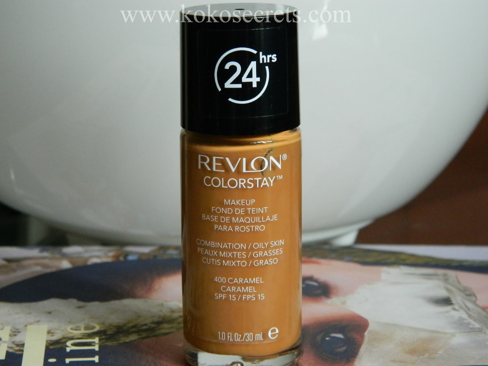 A Perfect Match? REVLON Colorstay Foundation in Caramel | Kokosecrets