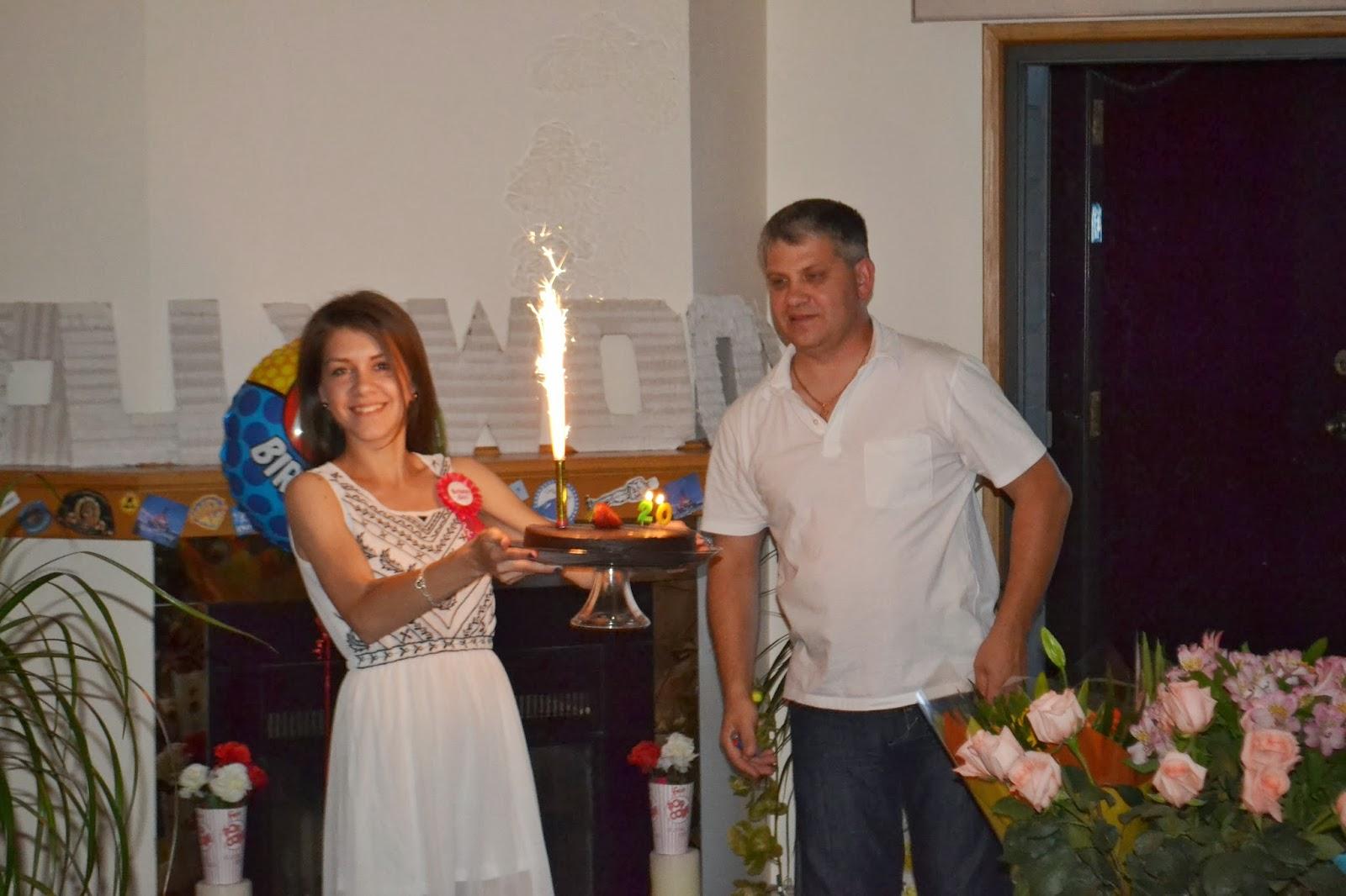 Заключительные поздравления с днем рождения