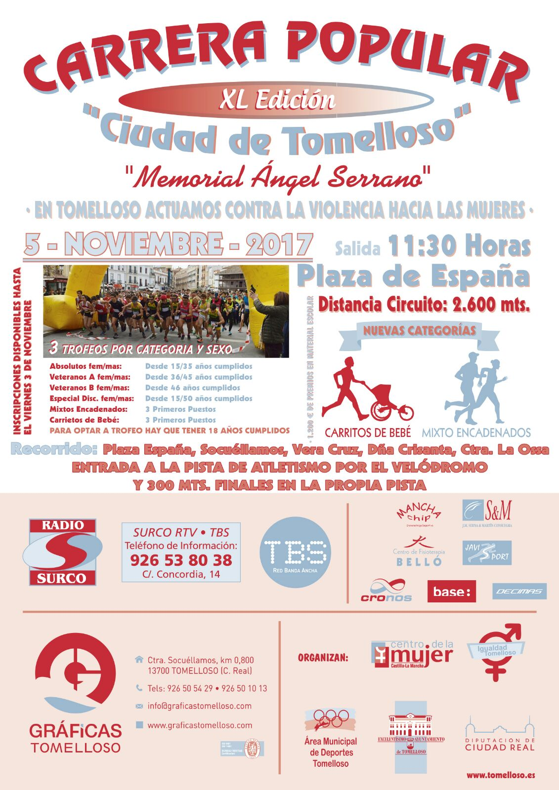XL CARRERA POPULAR 2017