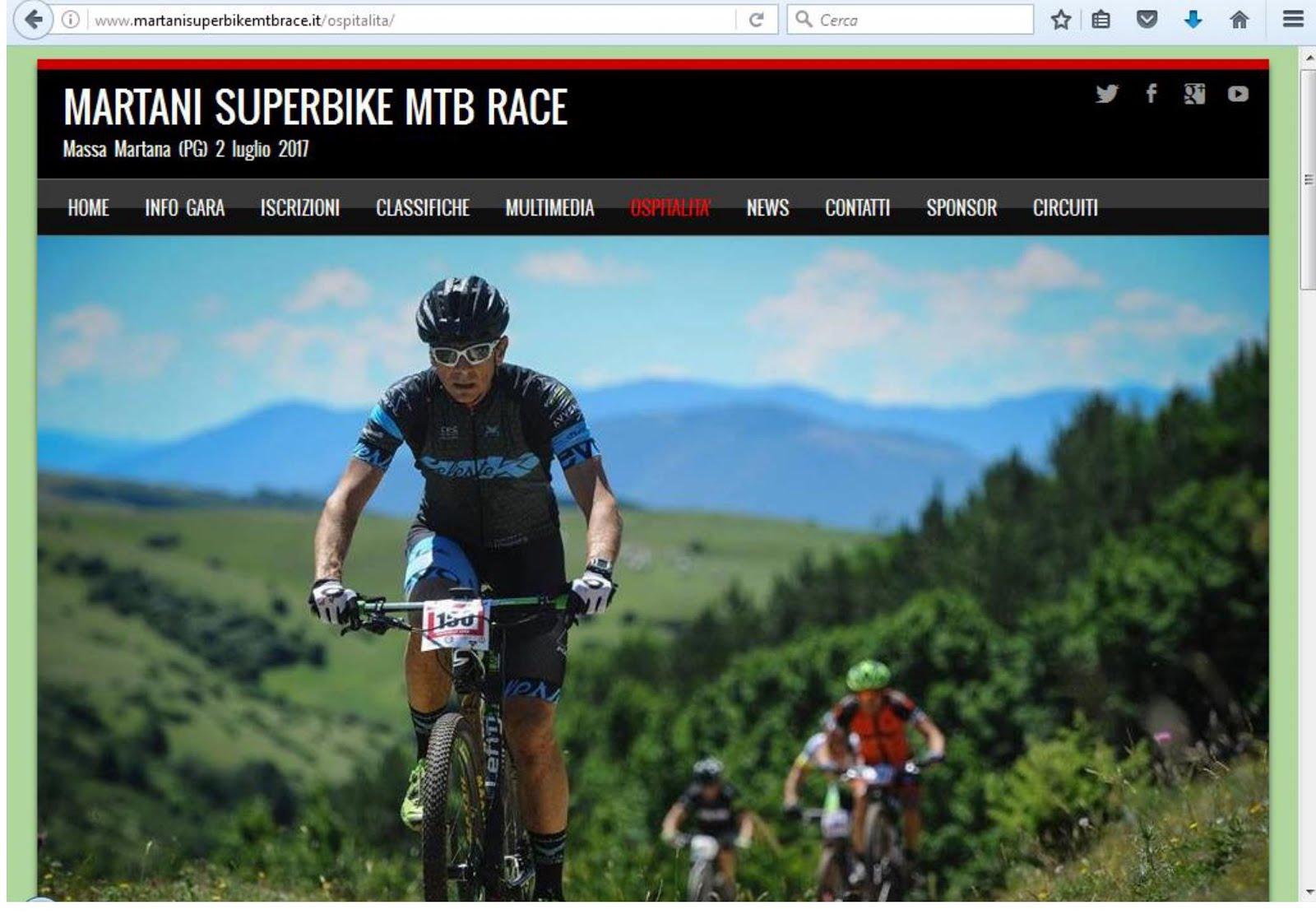 SITO UFFICIALE MARTANI SUPERBIKE MTB RACE