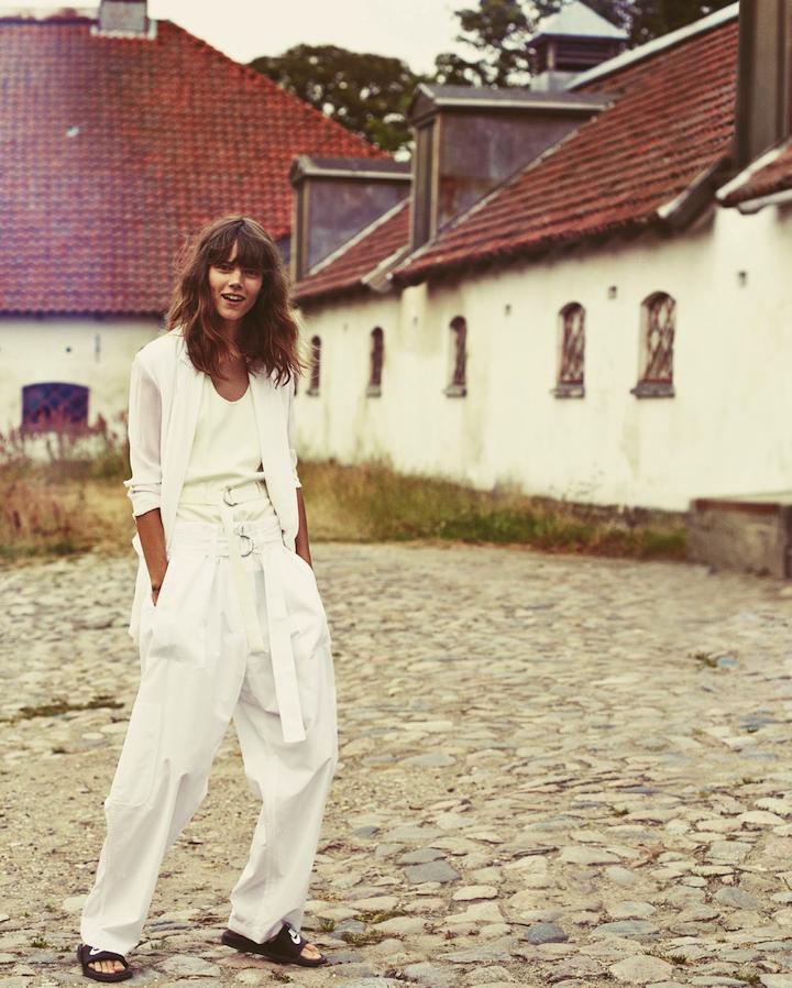 Freja Beha Erichsen by Cass Bird (Shore Leave - UK Vogue January 2014)
