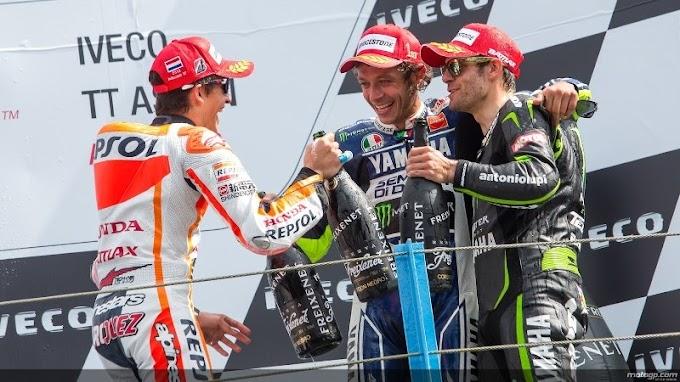 Race MotoGP, Valentino Rossi is Back!Lorenzo is Great!
