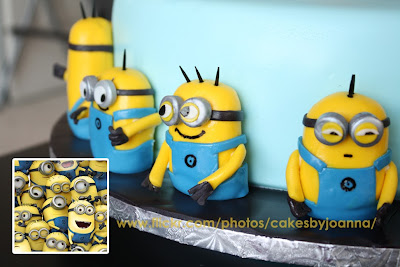 cute despicable me minions wedding cake