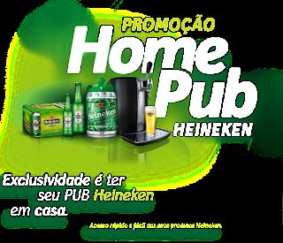 """Promoção  """"Home Pub Heineken"""""""