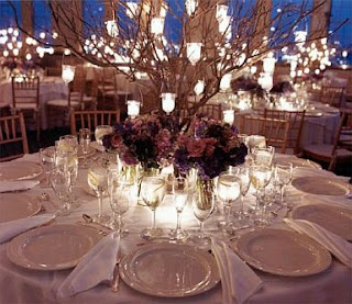Wedding Decoration, Centerpieces with Candles