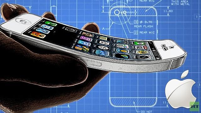 أبل تصنع أى فون6 القادم بشاشة منحنية