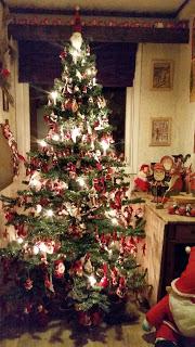 Juletreet mitt i 2015