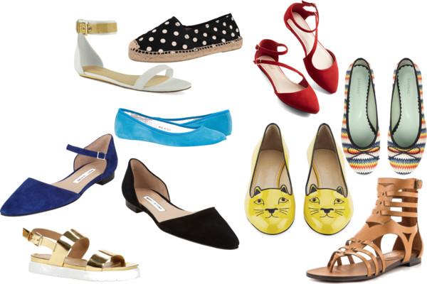 Flats de moda