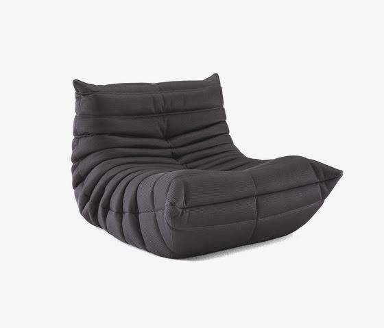 canapé gris Togo