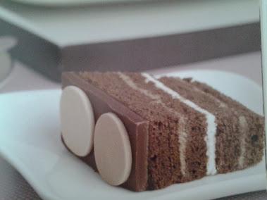 Bolo massa de chocolate