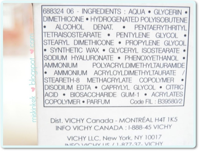 vichy-aqualia-thermal-light-cream-ingredients-icerik