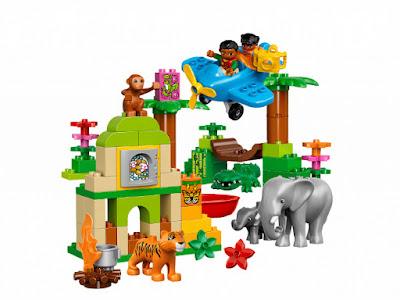 TOYS : JUGUETES - LEGO Duplo  10804 Jungla : Alrededor del Mundo  Jungle : Around The World  Producto Oficial 2016 | Piezas: 86 | Edad: 2-5 años  Comprar en Amazon España & buy Amazon USA