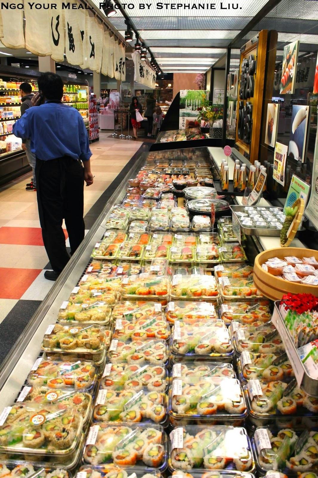 Mitsuwa Sushi Selection by Stephanie Liu
