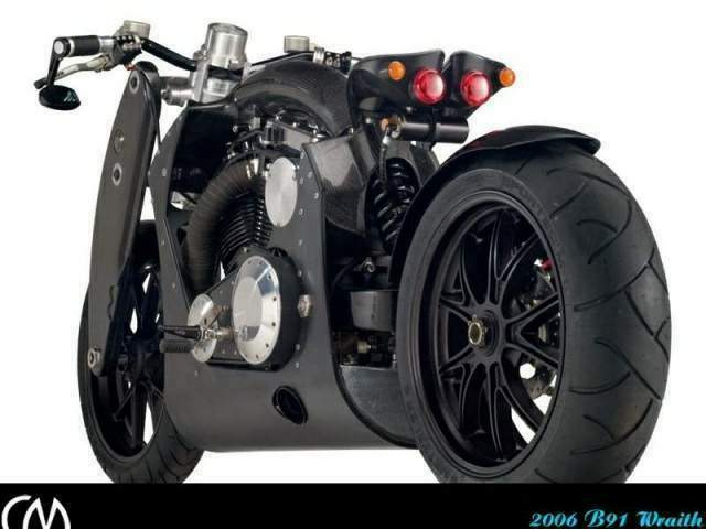 Confederate B91 Wraith motorcycle