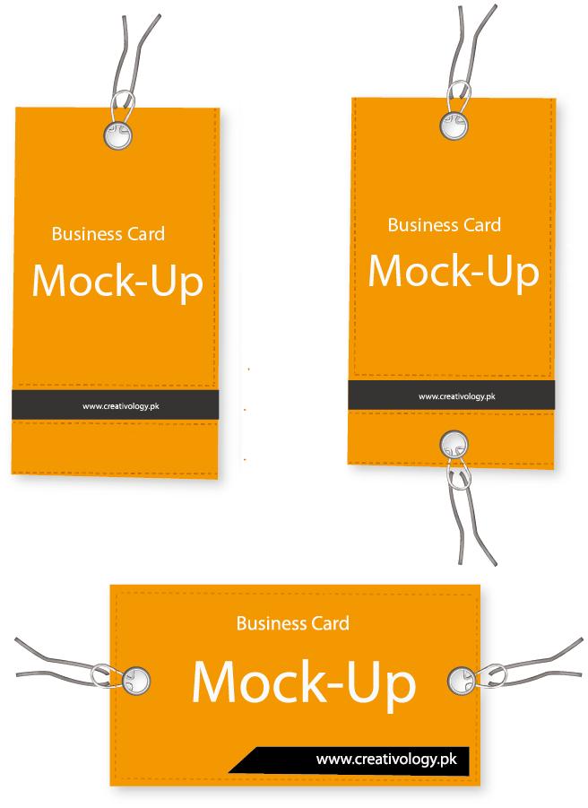 ビジネスカード デザイン創案 Bussiness Card Mockup イラスト素材