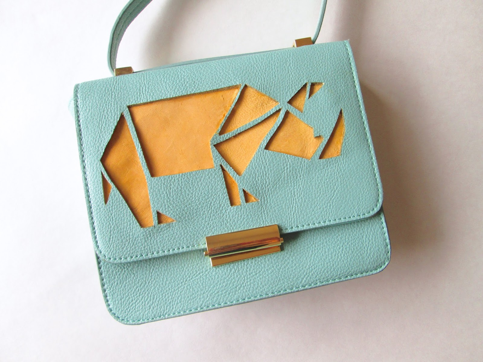 DIY Anthropologie Rhino purse