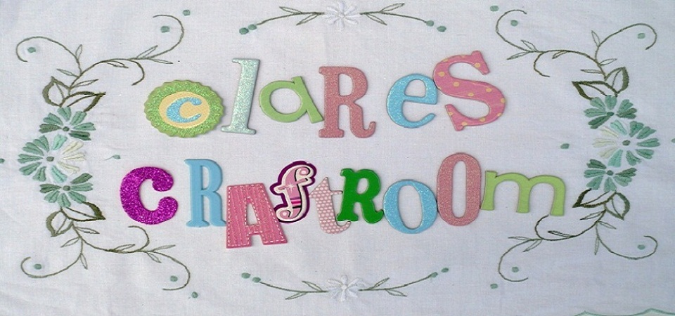clare&#39;s craftroom