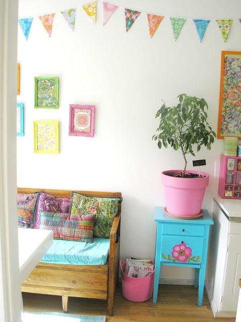 decoração casa colorida varias cores