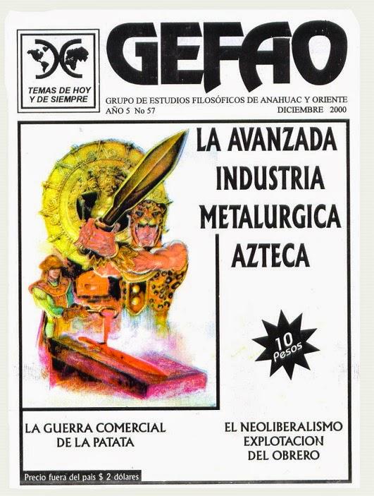 REVISTA GEFAO LA AVANZADA METALURGIA AZTECA