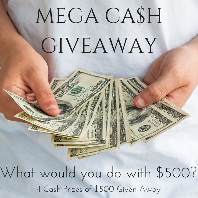 Enter To Win $500 Cash!
