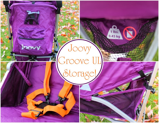 Joovy Groove Ultralight in Purpleness Storage