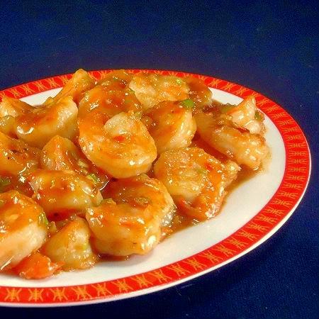 One Perfect Bite: Spicy Orange Shrimp Stir-Fry