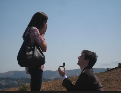 Unbelievable Ideas For Marriage Proposal - man proposing to a woman