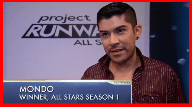 Project Runway All Stars Season One winner Mondo Guerra