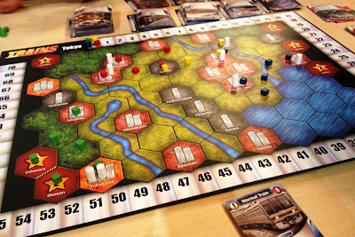 Best board game of 2013 trains