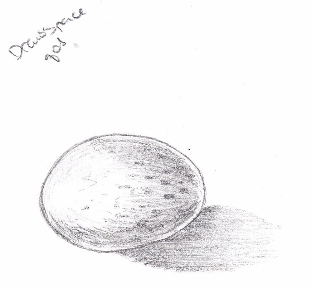 how to draw the egg of life