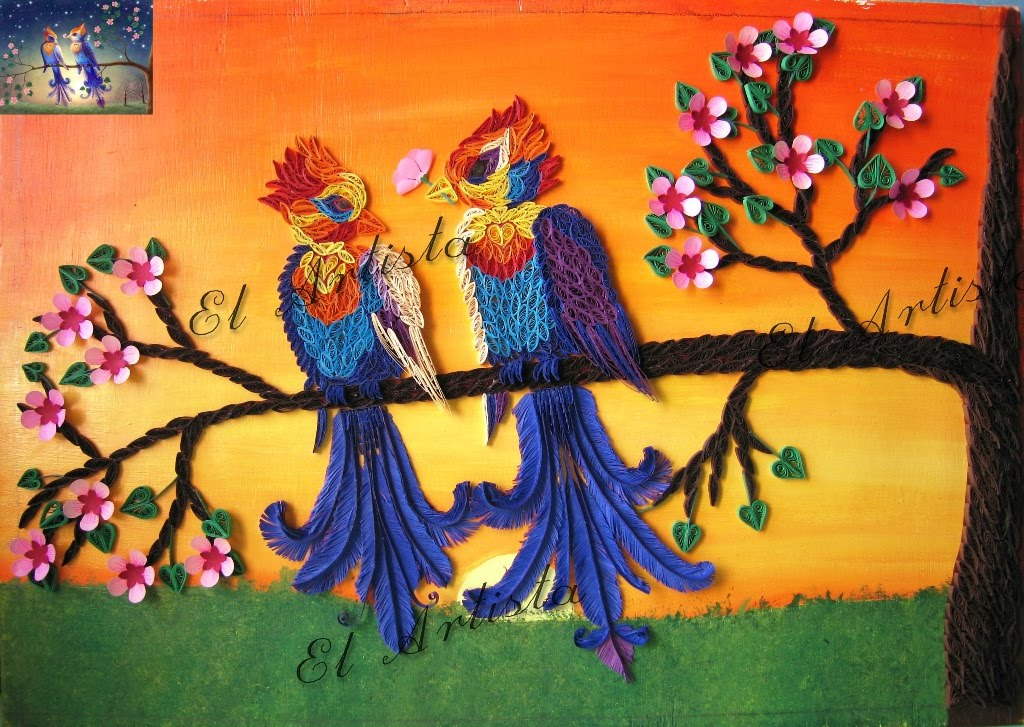 Creativity my passion mar 22 2011 - Paper quilling art wallpapers ...
