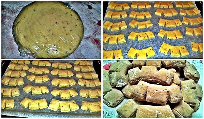 Preparación de las galletas de anís suizas