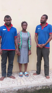 This Young Lady And 2 Others Defrauded People Of Over N70Million Through Facebook In Imo