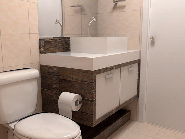 Decor pequenos com estilo banheiros pequenos e perfeitos - Armarios para espacios pequenos ...