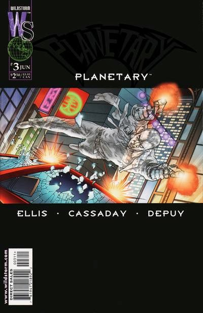 Planetary # 3 - Warren Ellis John Cassaday