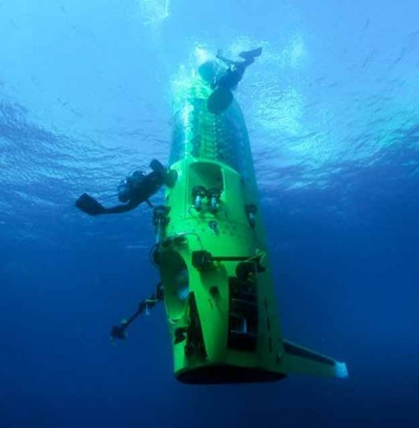 James Cameron Reached the Deepest Known Point in the Ocean
