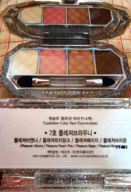 VOV Castledew Color Shot Eyes #7 Pleasure Brownies