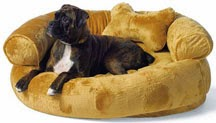 Fleece Comfy Pet Couch by Frontgate