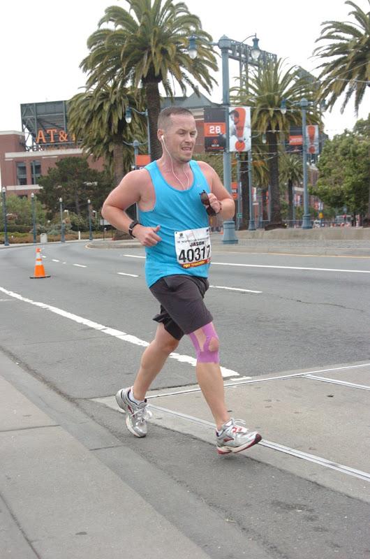 Final miles San Francisco Marathon 2012