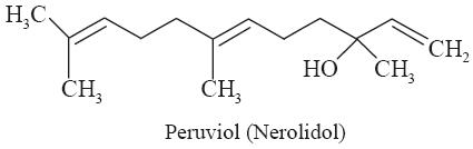 peruviol (or nerolidol)